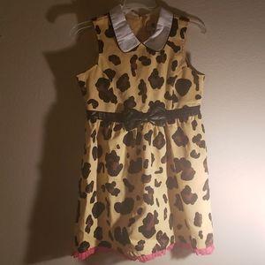 Harajuku mini leopard girls dress.